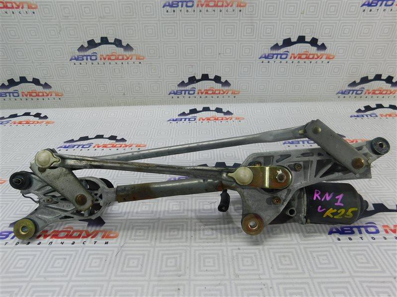 Мотор дворников Honda Stream RN1-2002877 D17A передний