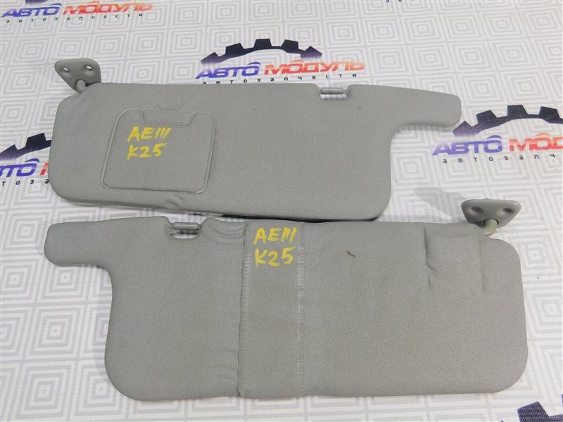 Козырек солнцезащитный Toyota Sprinter Carib AE111-7013083 4A-FE 1996