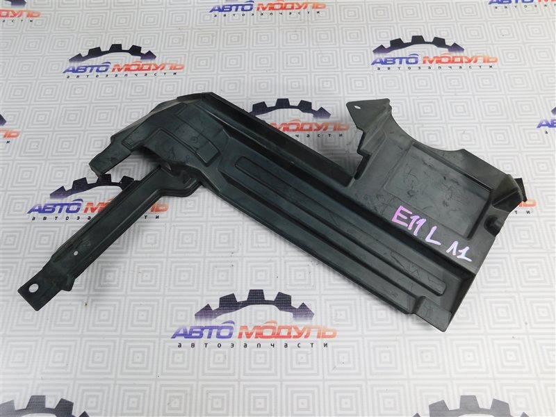 Защита радиатора Nissan Note E11 левая