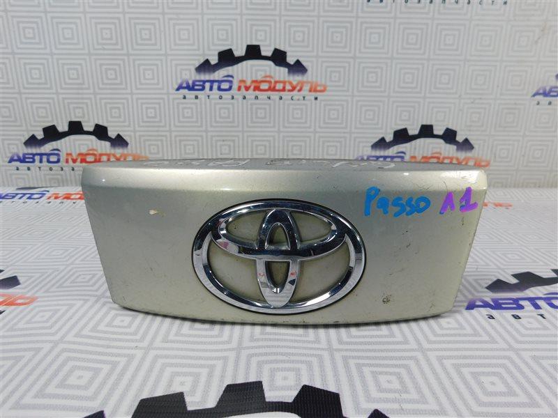 Ручка задней двери Toyota Passo QNC10 задняя