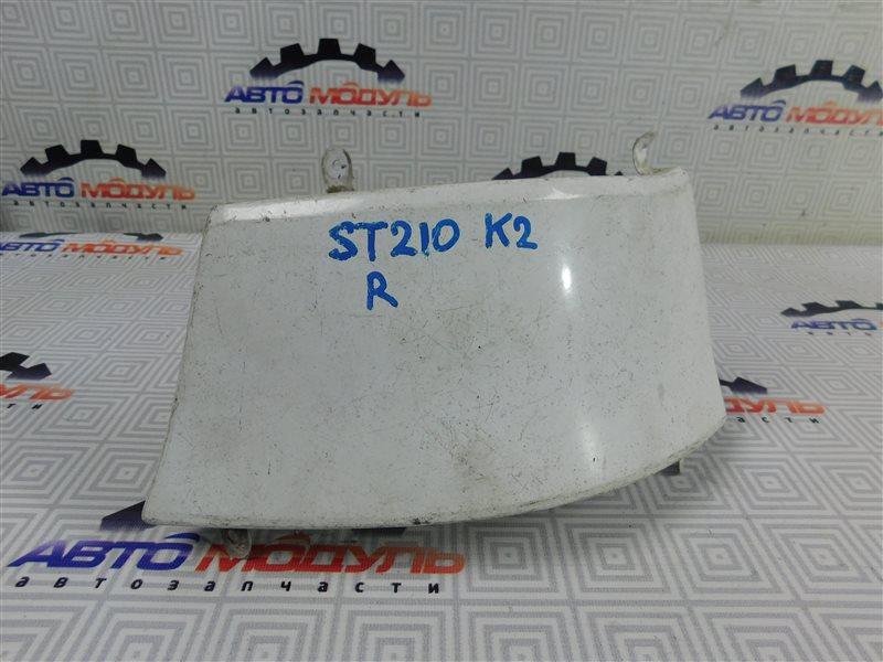 Планка под стоп Toyota Caldina AT211 правая