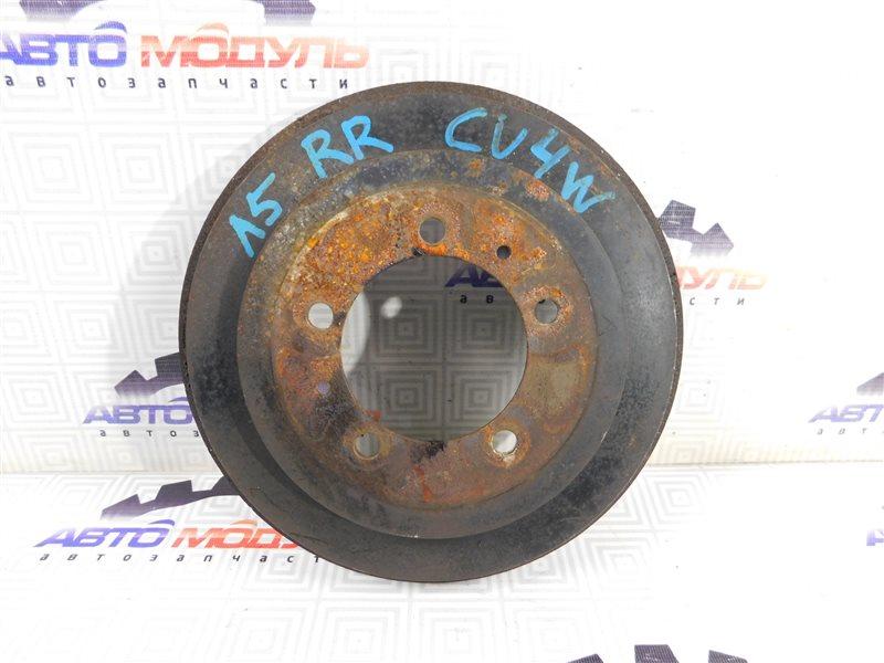 Барабан тормозной Mitsubishi Airtrek CU2W задний