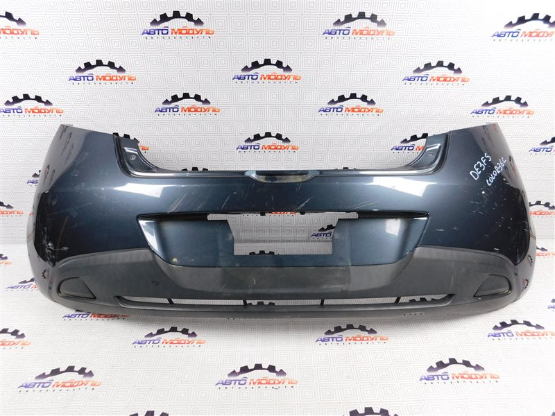 Бампер Mazda Demio DE3FS-144742 ZJ-VEM 2008 задний