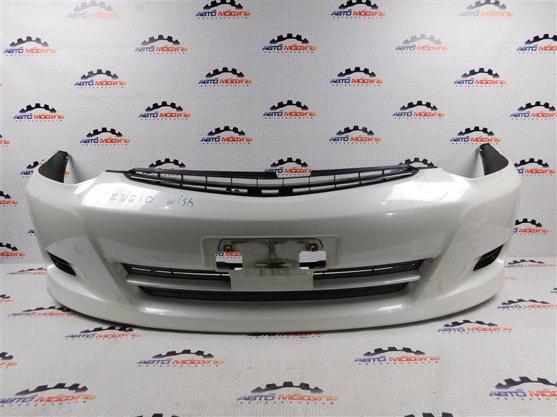 Бампер Toyota Wish ZNE10-0390919 1ZZ-FE 2007 передний