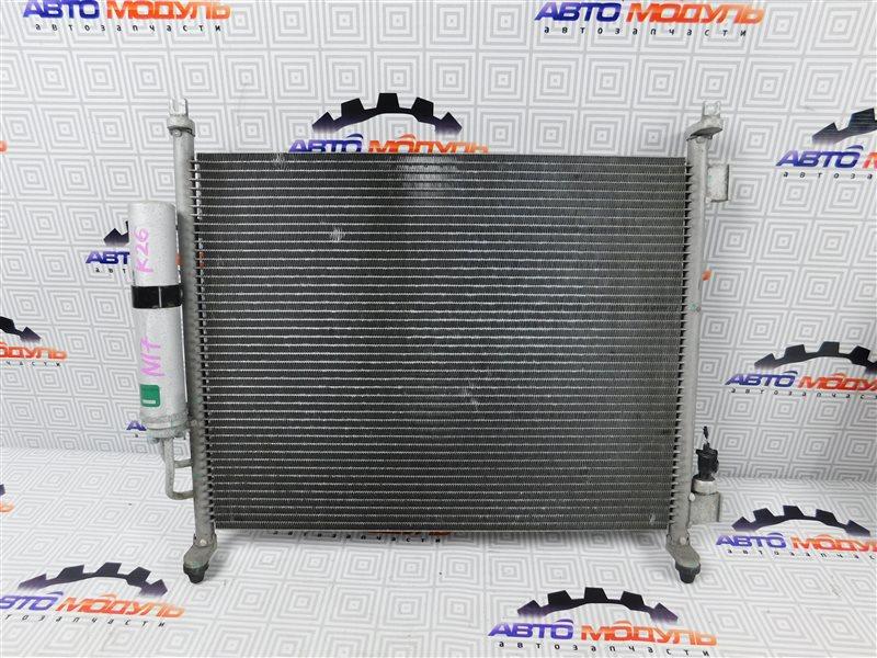 Радиатор кондиционера Nissan Latio N17-001657 HR12-DE 2012