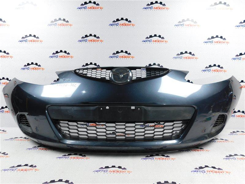 Бампер Mazda Demio DE3FS-144742 ZJ-VEM 2008 передний