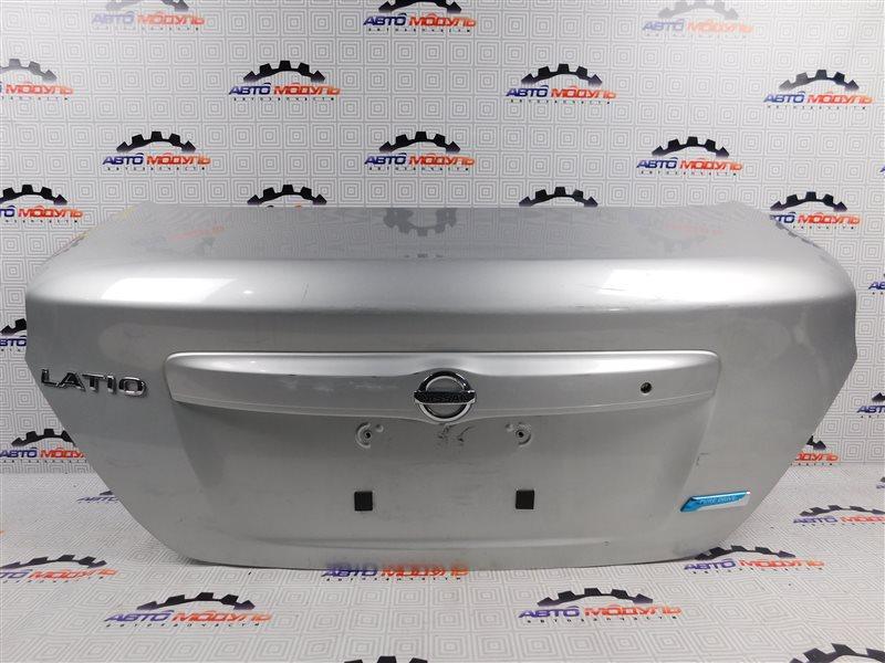 Крышка багажника Nissan Latio N17-001657 HR12-DE 2012 задняя