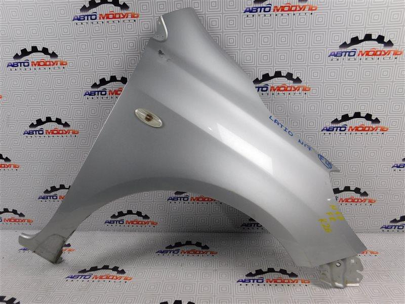 Крыло Nissan Latio N17-001657 HR12-DE 2012 переднее правое