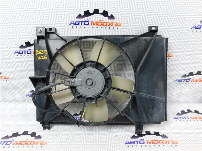 Диффузор радиатора Mazda Demio DE3FS-144742 ZJ-VEM 2008