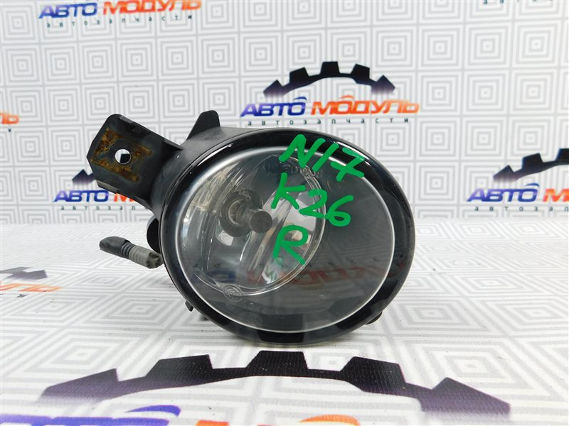 Туманка Nissan Latio N17-001657 HR12-DE 2012 правая