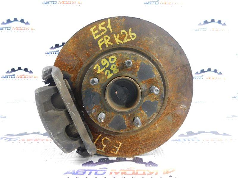 Диск тормозной Nissan Elgrand E51 VQ35-DE передний