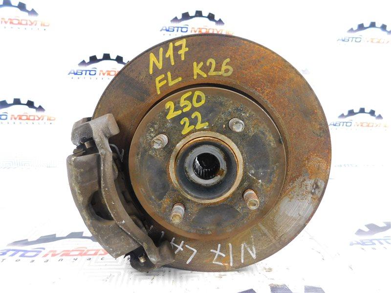 Ступица Nissan Latio N17-001657 HR12-DE 2012 передняя левая