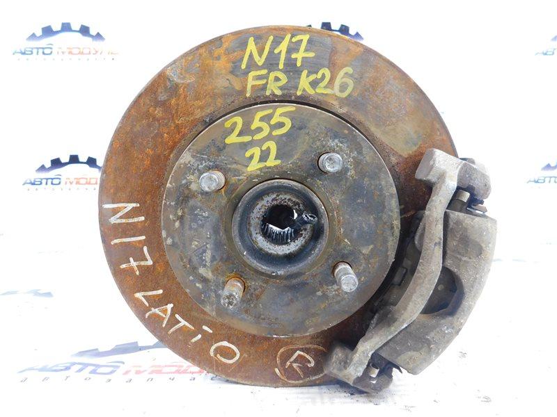 Ступица Nissan Latio N17-001657 HR12-DE 2012 передняя правая