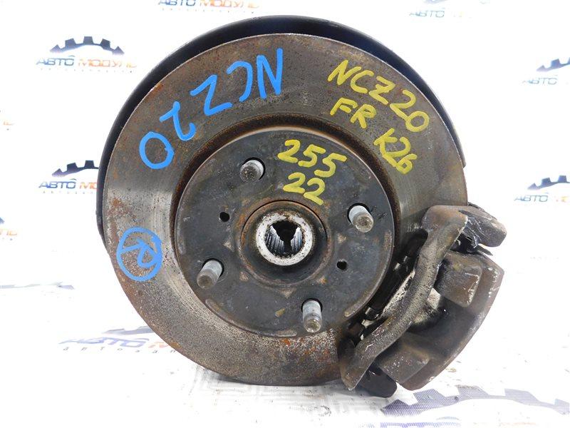 Ступица Toyota Raum NCZ20-0132878 1NZ-FE 2009 передняя правая