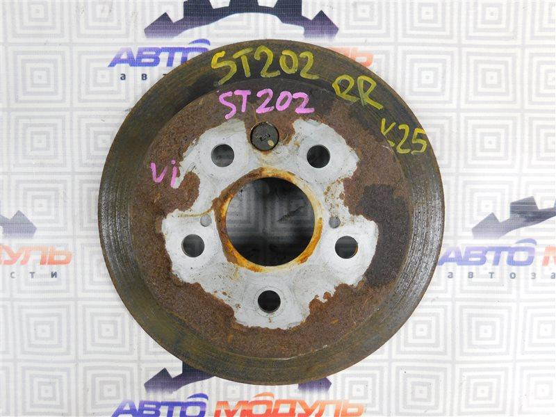 Диск тормозной Toyota Corona Exiv ST202-7006694 3S-FE 1993 задний