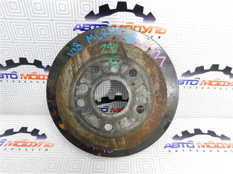 Диск тормозной Toyota Estima AHR10 задний
