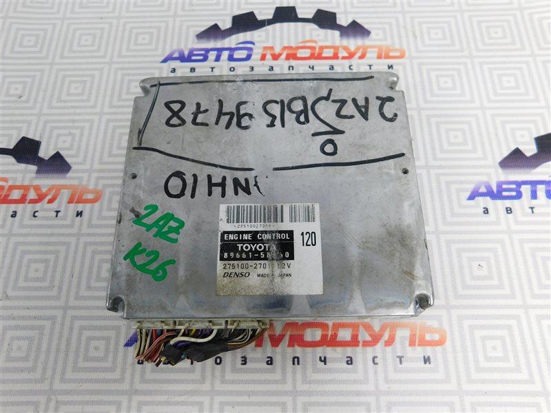 Компьютер двс Toyota Alphard ANH10 2AZ-FE