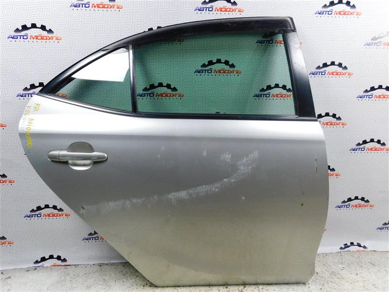 Дверь Toyota Allion NZT240-0067585 1NZ-FE задняя правая