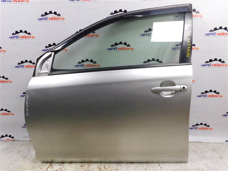 Дверь Toyota Allion NZT240-0067585 1NZ-FE передняя левая
