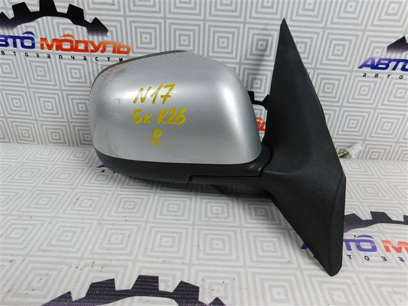 Зеркало Nissan Latio N17-001657 HR12-DE 2012 правое