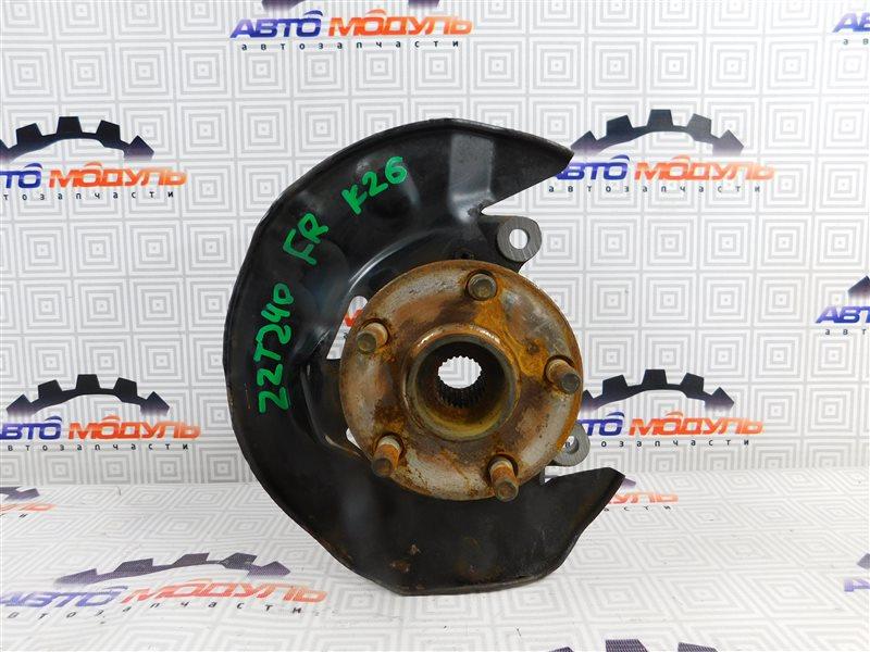 Ступица Toyota Allion NZT240-0067585 1NZ-FE передняя правая