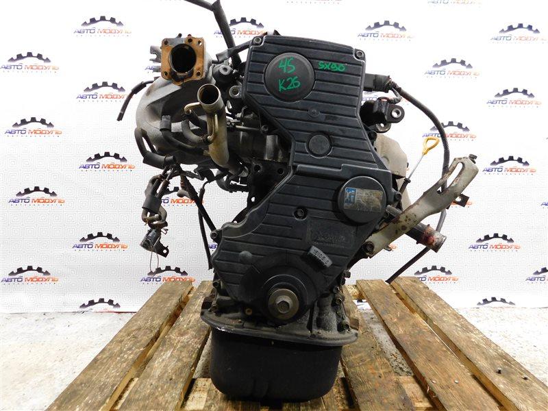 Двигатель Toyota Chaser SX90 4S-FE