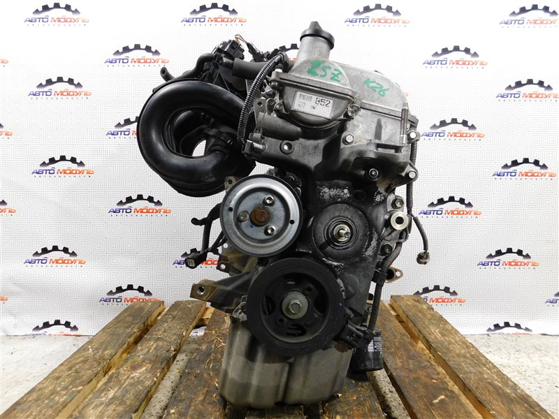 Двигатель Toyota Vitz SCP90-5113557 2SZ-FE 2009