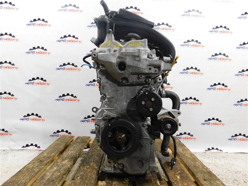 Двигатель Nissan Latio N17-001657 HR12-DE 2012