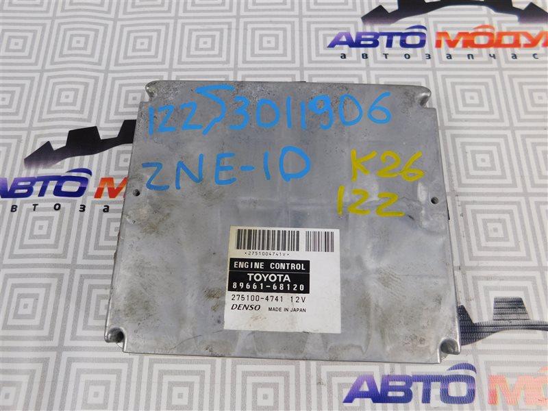Компьютер двс Toyota Wish ZNE10-0390919 1ZZ-FE 2007