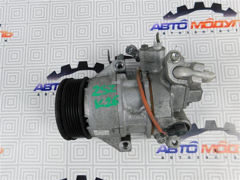 Компрессор кондиционера Toyota Vitz SCP90-5113557 2SZ-FE 2009