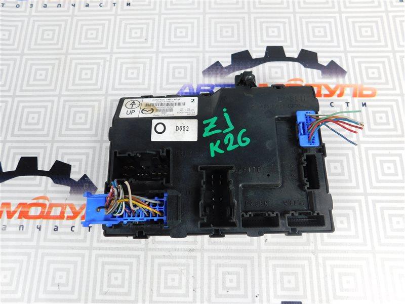 Блок управления Mazda Demio DE3FS-144742 ZJ-VEM 2008