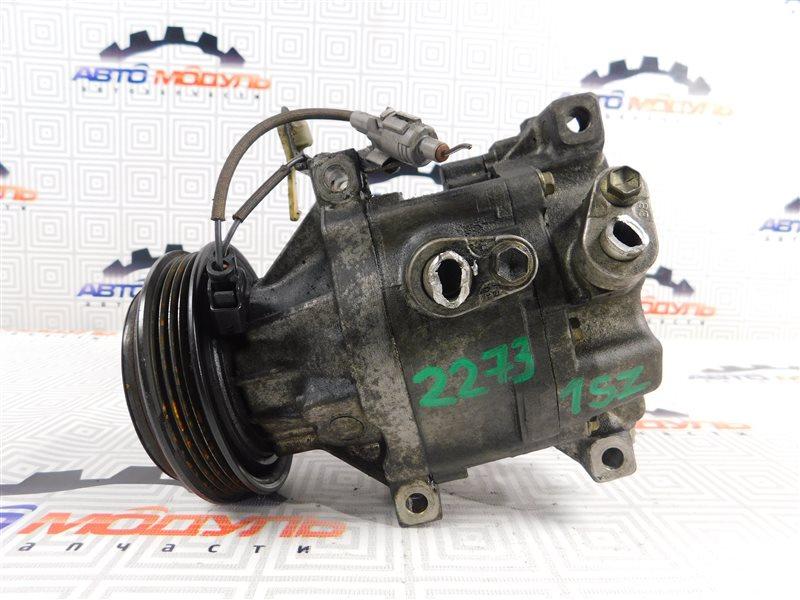 Компрессор кондиционера Toyota Vitz SCP10 1SZ