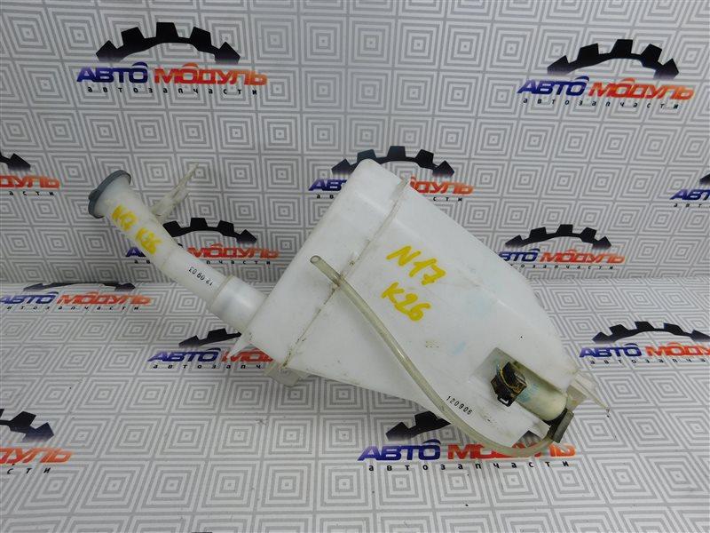 Бачок омывателя Nissan Latio N17-001657 HR12-DE 2012