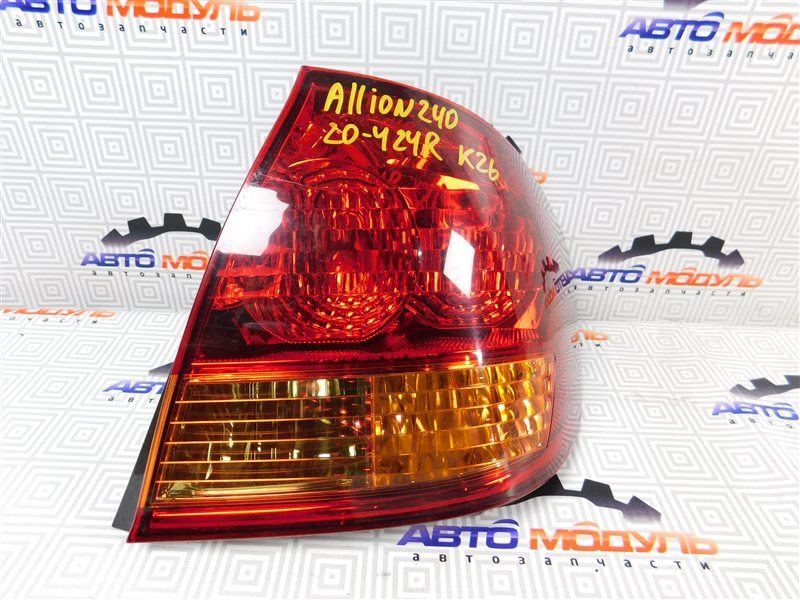 Стоп Toyota Allion NZT240-0067585 1NZ-FE правый