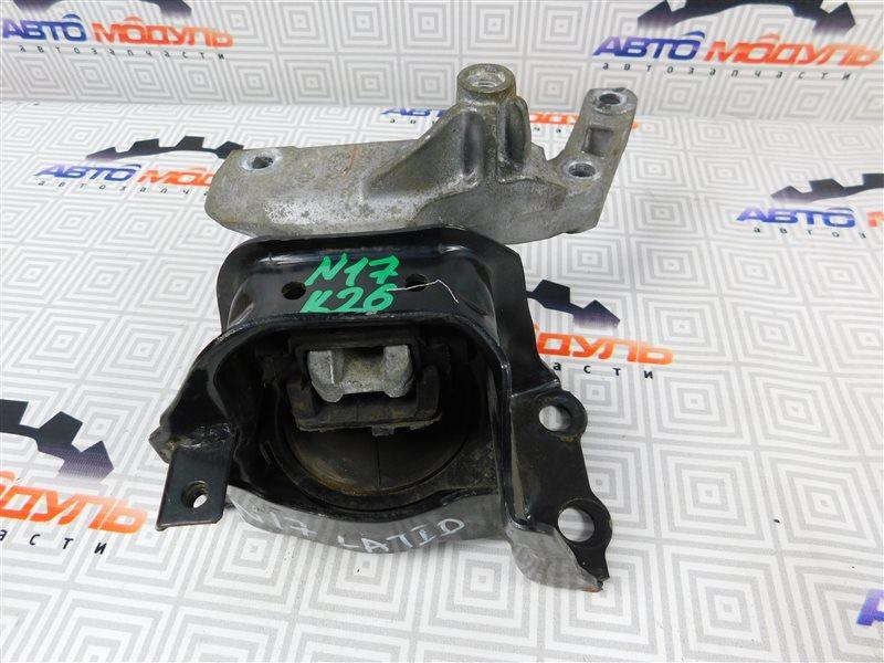 Подушка двигателя Nissan Latio N17-001657 HR12-DE 2012 правая
