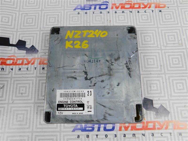 Компьютер двс Toyota Allion NZT240-0067585 1NZ-FE