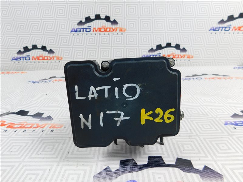 Блок abs Nissan Latio N17-001657 HR12-DE 2012
