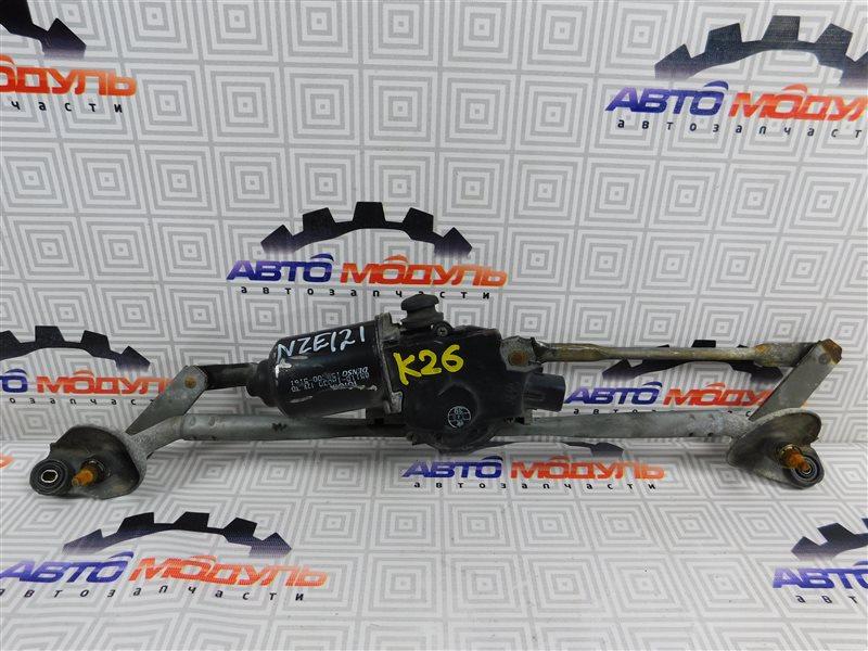 Мотор дворников Toyota Corolla NZE121-0124933 1NZ-FE 2002 передний