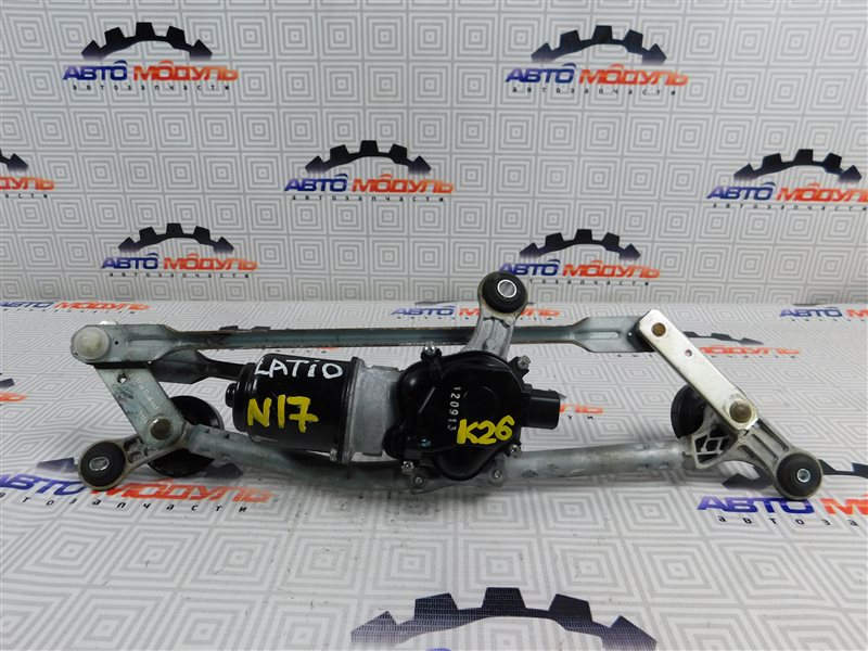 Мотор дворников Nissan Latio N17-001657 HR12-DE 2012 передний