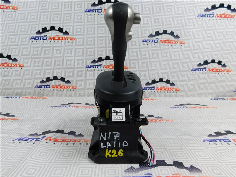 Селектор акпп Nissan Latio N17-001657 HR12-DE 2012