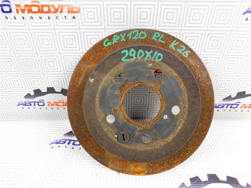 Диск тормозной Toyota Crown GRS180-0002649 4GR-FSE 2004 задний