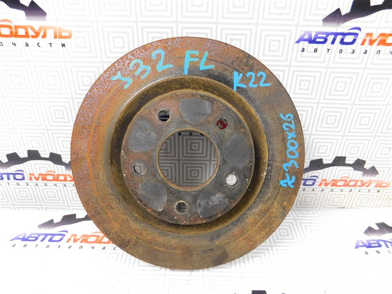 Диск тормозной Nissan Teana J32-013317 VQ25-DE передний