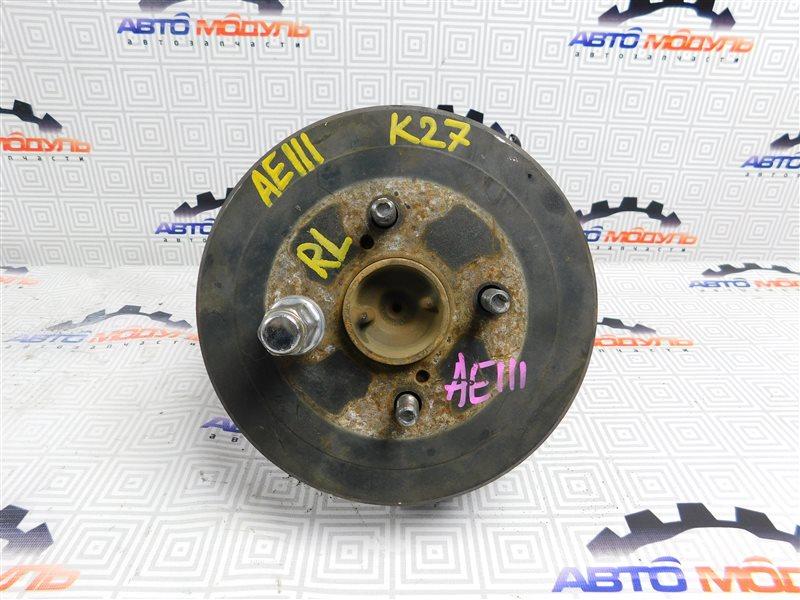 Барабан тормозной Toyota Corolla Spacio AE111-6046386 4A-FE 1997 задний