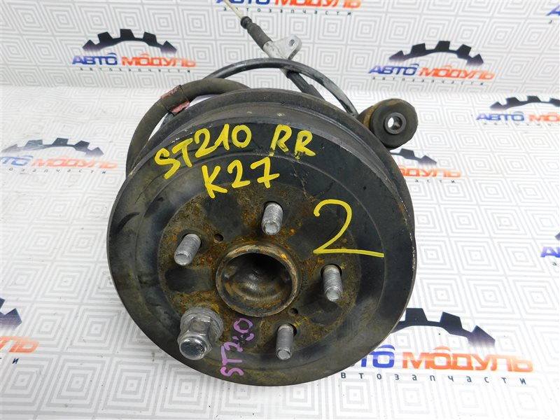 Барабан тормозной Toyota Caldina ST210-4059666 3S-FE 2002 задний