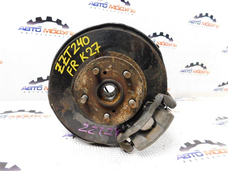 Диск тормозной Toyota Premio ZZT240-0063769 1ZZ 2003 передний
