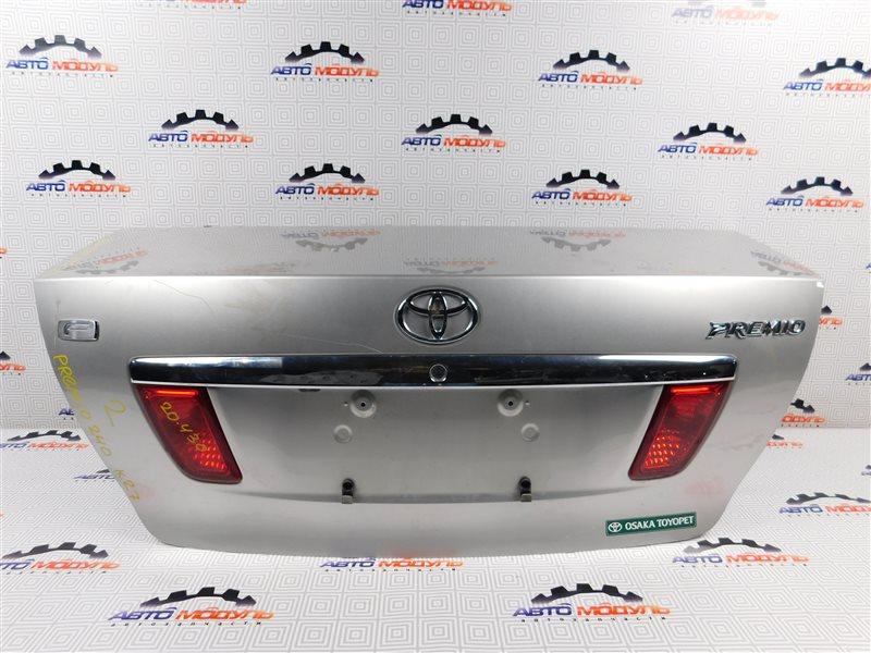Крышка багажника Toyota Premio NZT240-0030197 1NZ-FE 2002 задняя