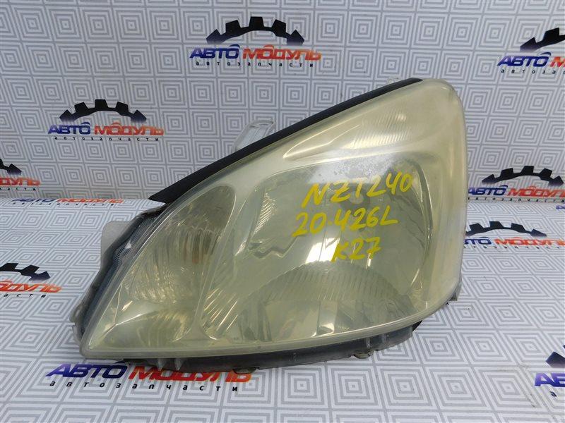 Фара Toyota Premio NZT240-0030197 1NZ-FE 2002 левая