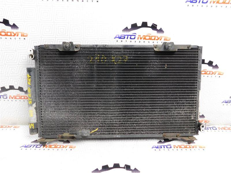 Радиатор кондиционера Toyota Caldina ST210-4029840 3S-FE 1999