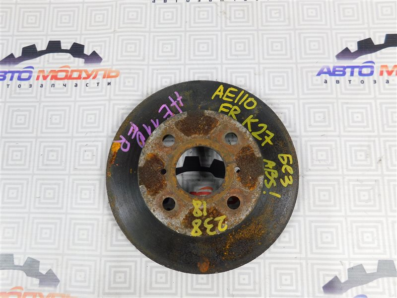 Диск тормозной Toyota Sprinter Trueno AE110-5018467 5A-FE 1995 передний