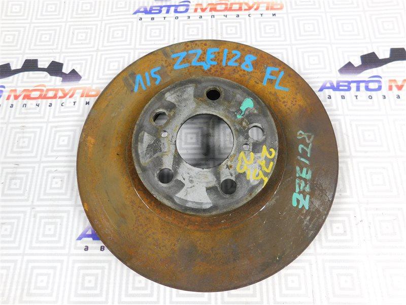Диск тормозной Toyota Will Vs ZZE128 передний